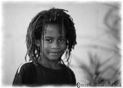 Kid rastafarian