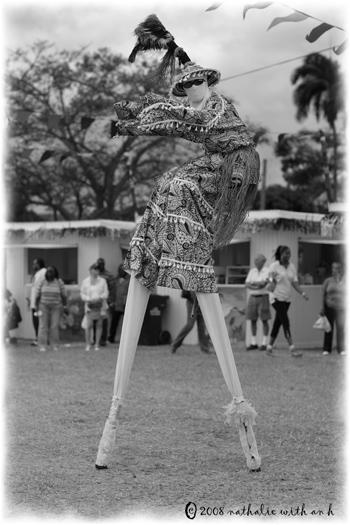 Moko Jumbie from St. Croix