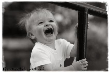 Laughing Blake