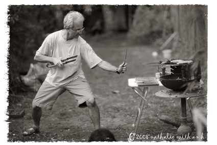 Barbecue warrior attack