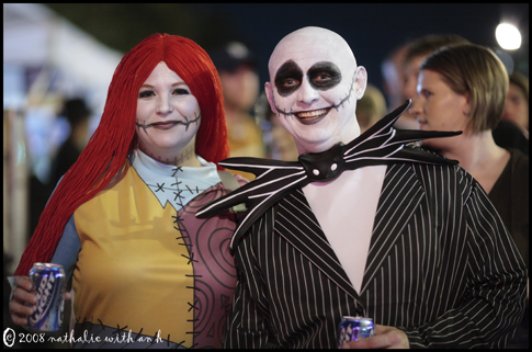 Tim Burton and I are hereby disowning these guys. Really.